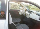Autohaus Neumann an der B19 - Fiat 500 Gelato weiß