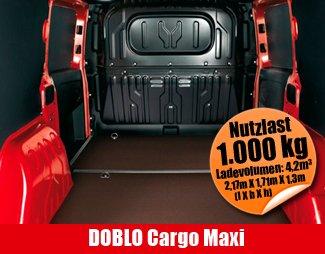 Autohaus Neumann an der B19 - Mietauto DOBLO Cargo Maxi