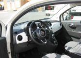 Fiat 500 Gelato Weiß Ansicht innen