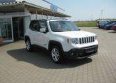 Jeep Renegade weiß Ansicht vorne rechts