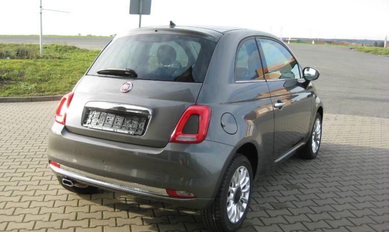 Fiat 500 Colosseo Grau