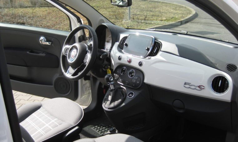 Fiat 500C Gelato Weiß Rot 6