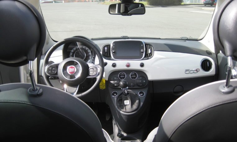 Fiat 500C Gelato Weiß Rot 7