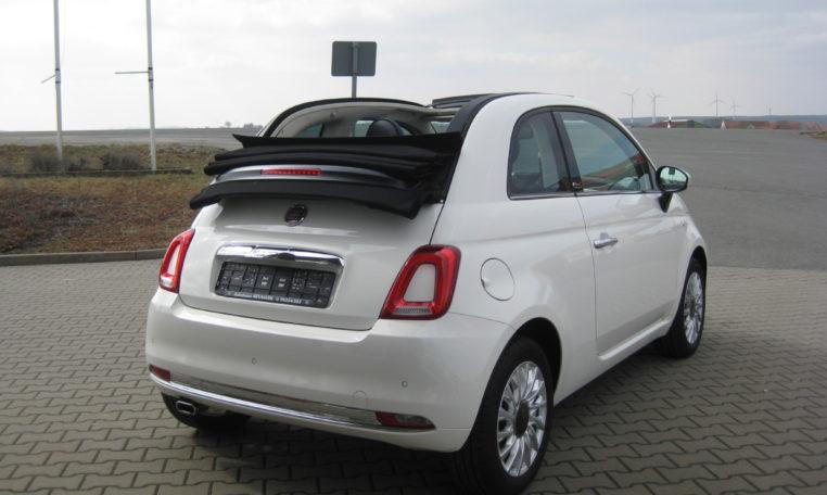 Fiat 500C Gelato Weiß Schwarz 3