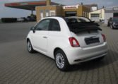Fiat 500C Gelato Weiß Schwarz 4