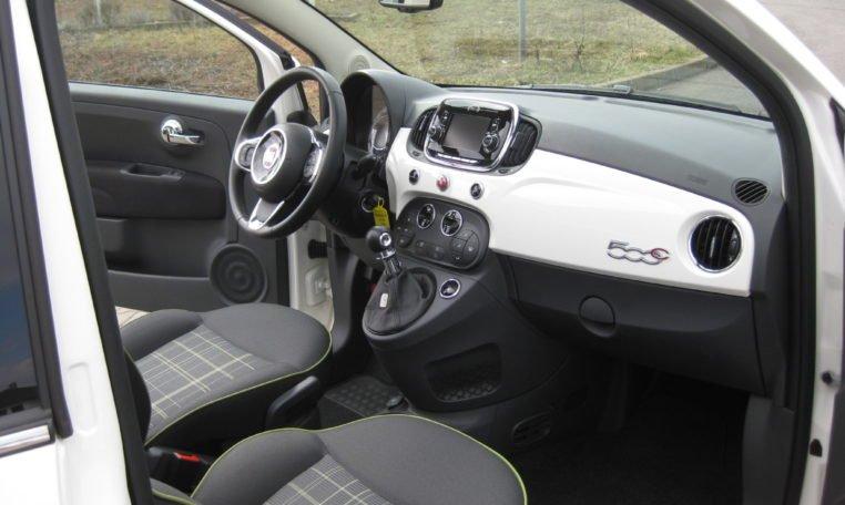 Fiat 500C Gelato Weiß Schwarz 6