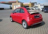 Fiat 500C Passione Rot Elfenbein 4