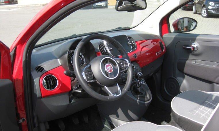 Fiat 500C Passione Rot Elfenbein 5