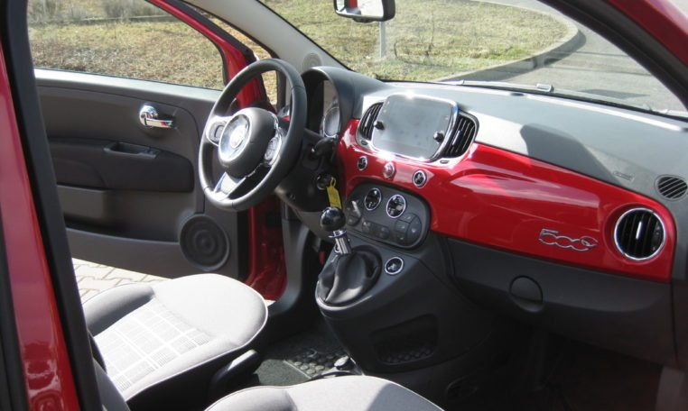 Fiat 500C Passione Rot Elfenbein 6