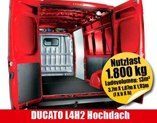Autohaus Neumann an der B19 - Mietauto DUCATO L4H2 Hochdach