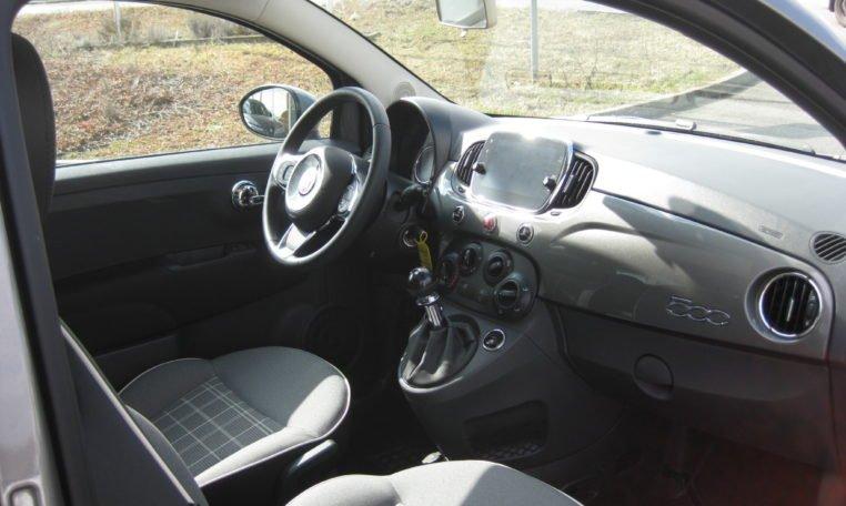 Fiat 500 Pompei Grau Met 6