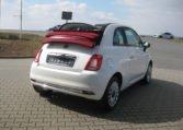 Fiat 500C Gelato Weiß Rot 3