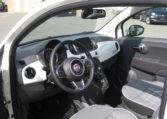 Fiat 500C Gelato Weiß Rot 5