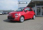 Fiat 500C Passione Rot Elfenbein 1