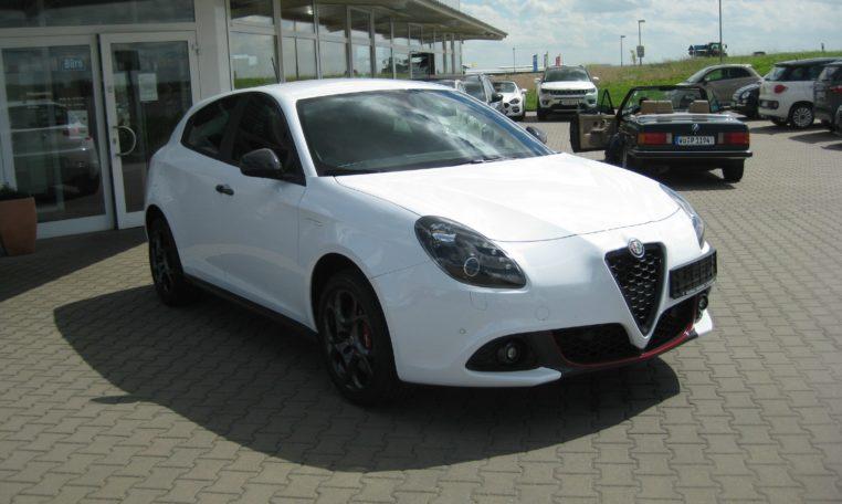 Alfa Giulietta Sport weiß Vfw 2