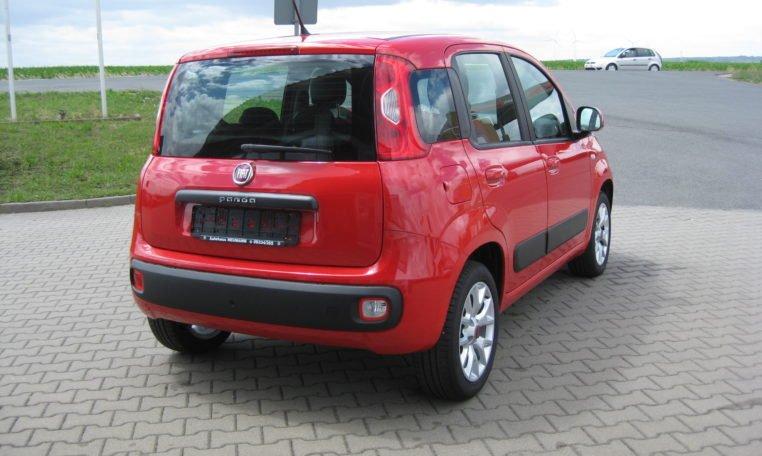 Fiat Panda Lounge rot Automatik 3