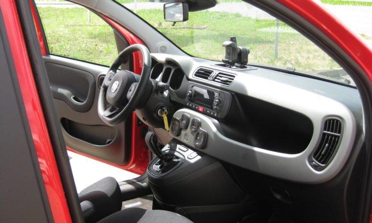 Fiat Panda Lounge rot Automatik 7