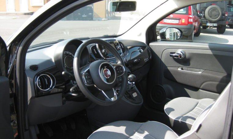 Fiat 500 Vesuvio Schwarz Met 5