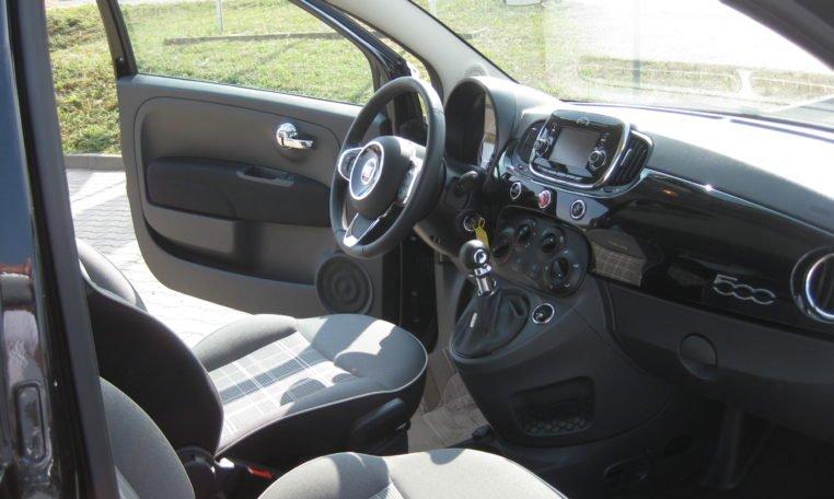 Fiat 500 Vesuvio Schwarz Met 6