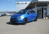Fiat 500C Sport Italia Blau 1