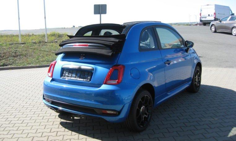 Fiat 500C Sport Italia Blau 3