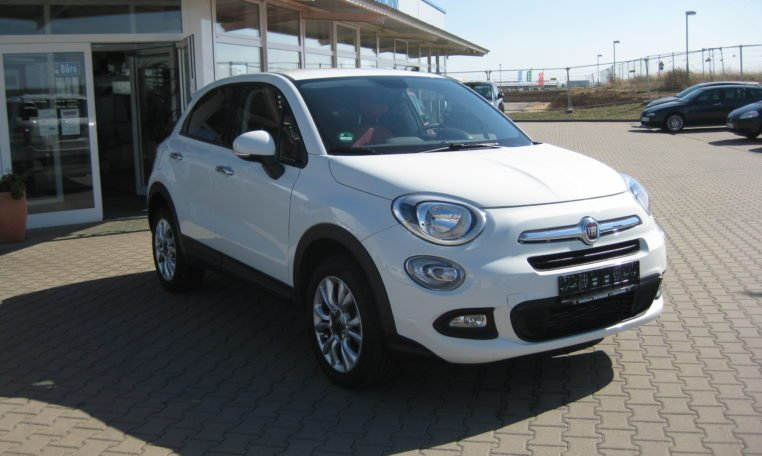 Fiat 500X Pop Star weiß 2