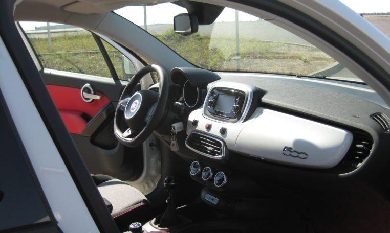 Fiat 500X Pop Star weiß 7