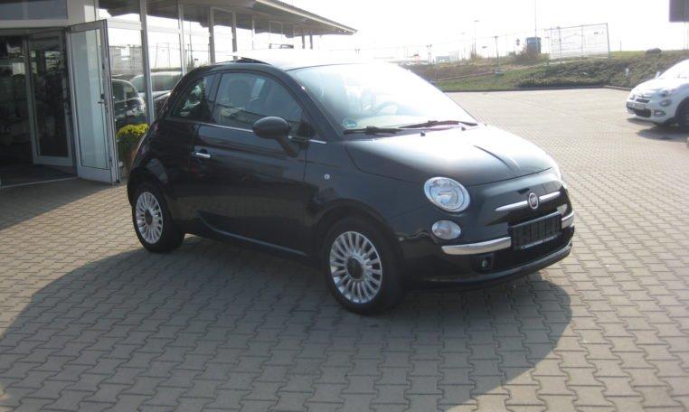 Fiat 500 Lounge schwarz Met 2