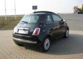 Fiat 500 Lounge schwarz Met 3