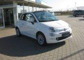 Fiat 500C Lounge weiß/schwarz 2