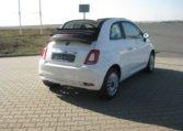 Fiat 500C Lounge weiß/schwarz 3