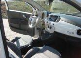 Fiat 500C Lounge weiß/schwarz 6