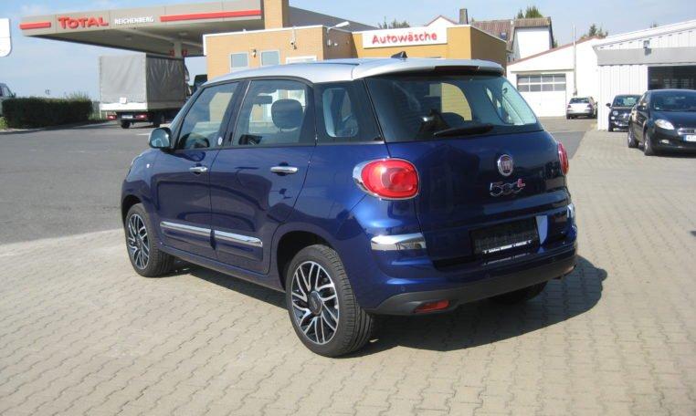 Fiat 500L Venezia Blau Met 4