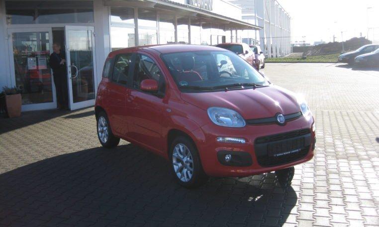 Fiat Panda Lounge rot 2