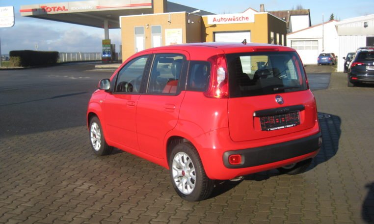 Fiat Panda Lounge rot 4